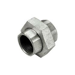 TIEMME Сгон прямой конический никелированный ВВ 1х1 для стальных труб резьбовой 1500206