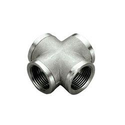 TIEMME Крестовина ВВ 1 никелированная для стальных труб резьбовая 1500345