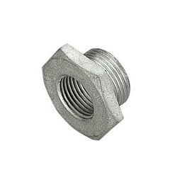 TIEMME Футорка НВ 1 1/4x3/4 никелированная для стальных труб резьбовая 1500352