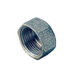Заглушка TIEMME ВР 1/2 никелированная для стальных труб резьбовая 1500200