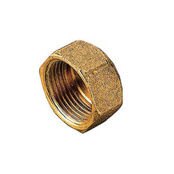 Заглушка TIEMME ВР 3/8 для стальных труб резьбовая 1500342