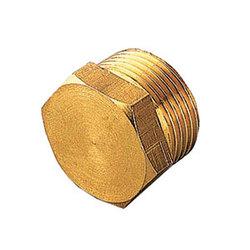 Заглушка TIEMME НР 1 латунная для стальных труб резьбовая 1500077