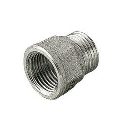Переходник TIEMME НВ никелированный 1/2х1/2 для стальных труб резьбовой 1500477
