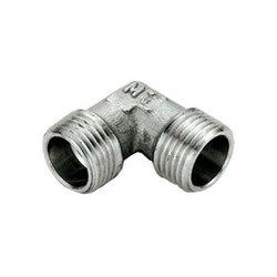 TIEMME Угольник НН никелированный 3/4х3/4 для стальных труб резьбовой 1500372