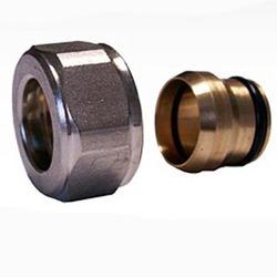 Резьбовое соединение SCHLOSSER для медных труб белое GW 22x1.5 x 15MM, арт. 602500003