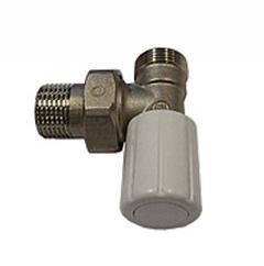 Ручной вентиль SCHLOSSER с наружной резьбой, угловой, DN151/2GZ*M221.5GZ, арт. 601400019