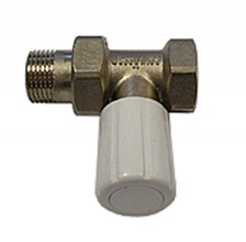 Ручной вентиль SCHLOSSER с муфтой, проходной, DN10 3/8 GZ * 3/8 GW, арт. 601400017