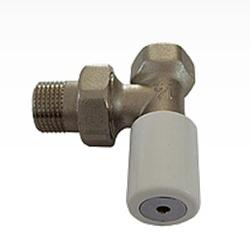Ручной вентиль SCHLOSSER с муфтой, угловой, DN 10 3/8 GZ * 3/8 GW, арт. 601400001