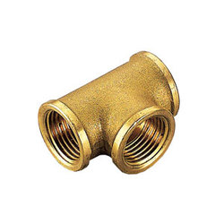 Тройник TIEMME ВВ 3/4х1/2х3/4 для стальных труб резьбовой 1500049
