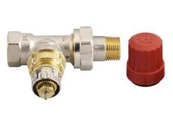 Клапан терморегулирующий радиаторный, Danfoss RA-N 013G0012, Ду10, 3/8, прямой никелированный (для двухтрубной системы)