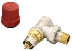 Клапан терморегулирующий радиаторный, Danfoss RA-N 013G0011, Ду10, 3/8, угловой никелированный (для двухтрубной системы)