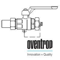 Шаровой кран Oventrop Optibal с рычагом, для высокого давления (сварка-колпачок) 1/2, артикул 1066504