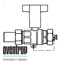 Шаровой кран Oventrop Optibal с маховиком, для высокого давления (сварка-колпачок) 1 1/4, артикул 1066610