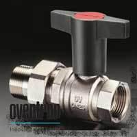 Шаровой кран Oventrop Optibal с американкой, 1, артикул 1075708