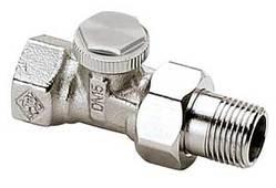 Запорный вентиль Heimeier Regutec Dy15(1/2), прямой, артикул 0356-02.000