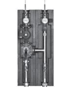 Meibes комплект отсечной арматуры коллектор насосная группа FL-UK Ду 40 без изоляции. Артикул (ME 66537)