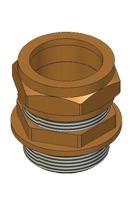 Meibes цанговое соединение переходник с насосной группы на медную или полимерную трубу 1 1/4 х 35 мм. Артикул (ME G 29611.15)