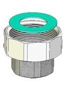Meibes комплект переходников для монтажа насосной группы Поколения 7 1 1/2 НГ х 1 ВР. Артикул (ME 66305.1)