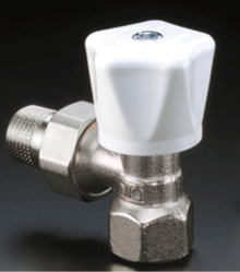 Ручной радиаторный вентиль Oventrop серия HR угловой Ду15, 1/2, артикул 1190504