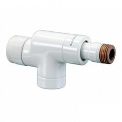 Вентиль (термостатический клапан) Oventrop серия E (эксклюзивная) осевой Ду15 1/2, артикул 1163262, цвет белый
