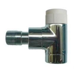 Вентиль (термостатический клапан) Oventrop серия E (эксклюзивная) угловой Ду15 1/2, артикул 1163052, цвет хромированный