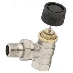 Вентиль (термостатический клапан) Oventrop серия A угловой Ду10 3/8, артикул 1180003
