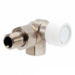 Вентиль (термостатический клапан) Oventrop AV6 трехосевой угловой Ду15 1/2, артикул 1183463 (правое присоединение)