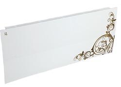 Дизайн-радиатор Lully коллекция Росток rst-02 steel (цвет золотой) боковое подключение