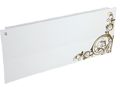 Дизайн-радиатор Lully коллекция Росток rst-01 steel (цвет золотой) боковое подключение